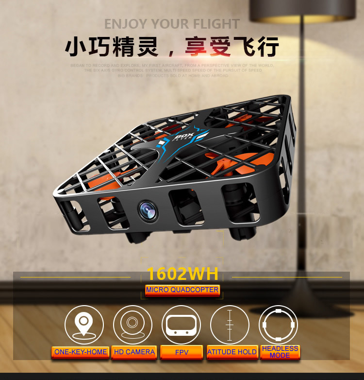 808 2.4ghz Mini Pocket Foldable Rc Quadcopter Drone Aircraft Altitude Hold One Key Return Headless Mode 3d Flip Led Control Latest Technology Rc Helicopters