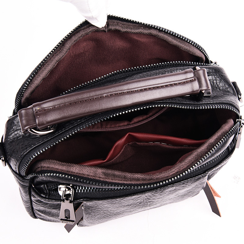 2019 New Designer Luxury Women Handbags Crossbody Shoulder Bags Soft Leather Elegant Ladies Hand Bags Sac A Main Femme in Shoulder Bags from Luggage Bags