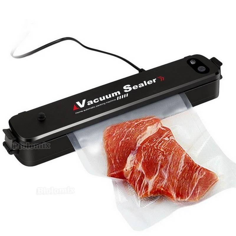 Household Multifunctional Vacuum Sealer Automatic Vacuum For Food Preservation, Sous Vide Cook Vacuum Sealer + 15pcs Sealer Bags