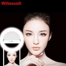 Портативный Флэш-36 Светодиодных Камеры Повышения Фотографии Селфи Кольцо Света для смартфон iPhone 6 плюс 6 s 6 5S 5 4S 4 Samsung Galaxy