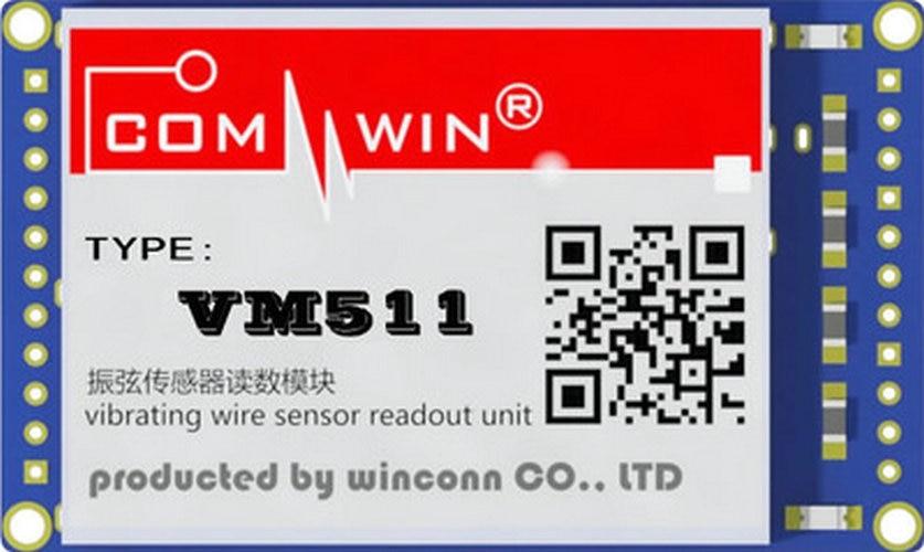 Vibrating Wire Sensor Measuring Module Reading Module VM511 Pin / Patch TypeVibrating Wire Sensor Measuring Module Reading Module VM511 Pin / Patch Type