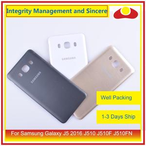 Image 3 - 50Pcs/lot For Samsung Galaxy J5 2016 J510 J510F J510FN J510H J510G Housing Battery Door Rear Back Cover Case Chassis Shell