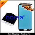 100% testado super amoled para samsung galaxy s4 i9500 i9505 i337 i545 lcd display lcd touch screen digitador assembléia