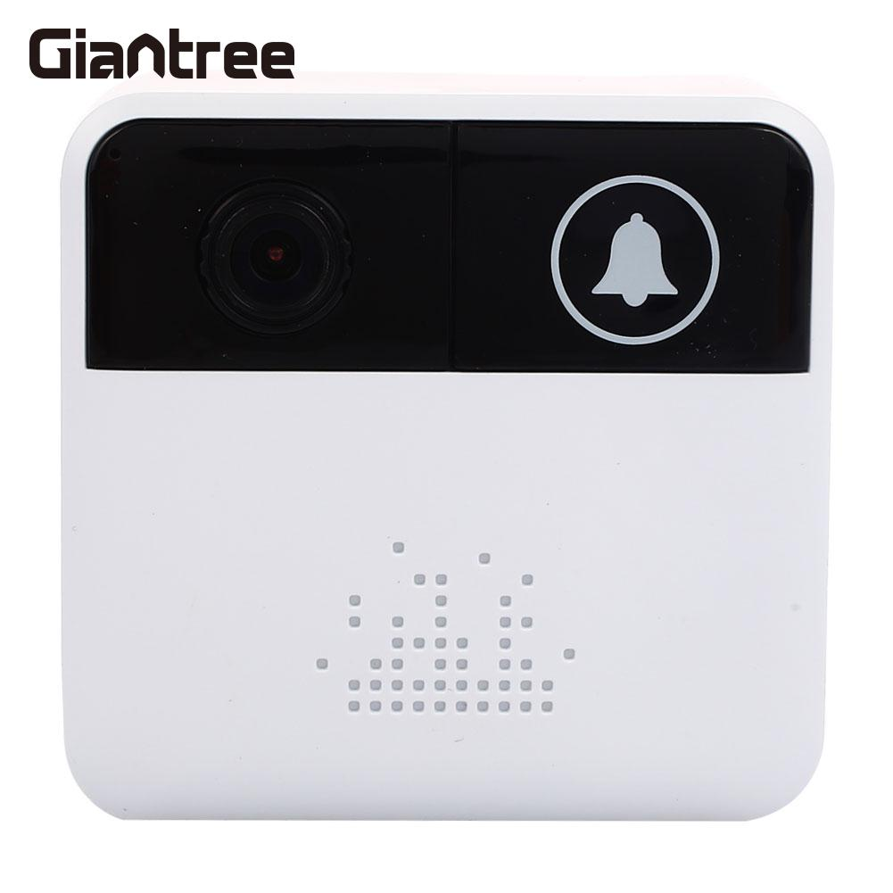 цена на Wifi Intercom Doorbell 1.0MP Night Vision Universal WiFi Wireless Doorbell 2.4GHz Intercom Wifi Doorbell Video Doorbell Black