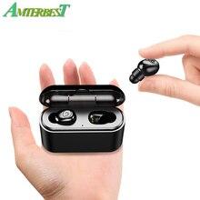 AMTERBEST X8-TWS Sem Fio Mini Fone De Ouvido Bluetooth Estéreo Fone De Ouvido Fones De Ouvido Handsfree Fones De Ouvido com MICROFONE 3000 mah de Carregamento da Caixa