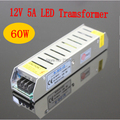 LED transformer input 110V/220-240V AC to 12V 5A 60W switching led power supply for led strip light warranty 2 years RoHS CE
