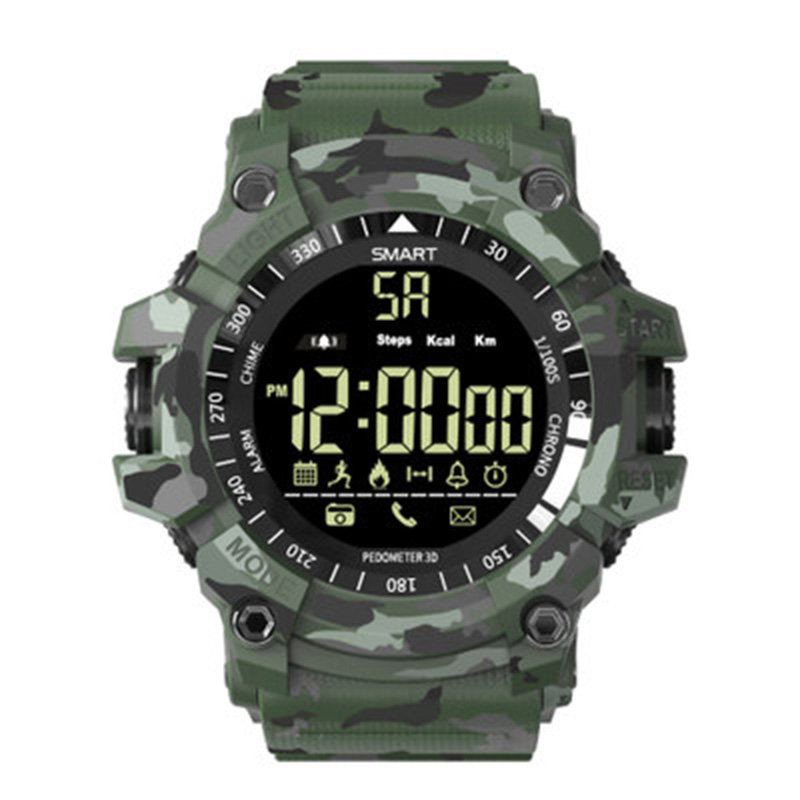 Camo Men Smart Watch Bluetooth multifunction Sports Pedometer Watch Outdoor G Style Shock Military Smartwatch Waterproof-in Smart Watches from Consumer Electronics on AliExpress - 11.11_Double 11_Singles' Day 1