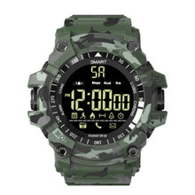 Camo Mannen Smart Horloge Bluetooth multifunctionele Sport Stappenteller Horloge Outdoor G Stijl Shock Militaire Smartwatch Waterdicht(China)