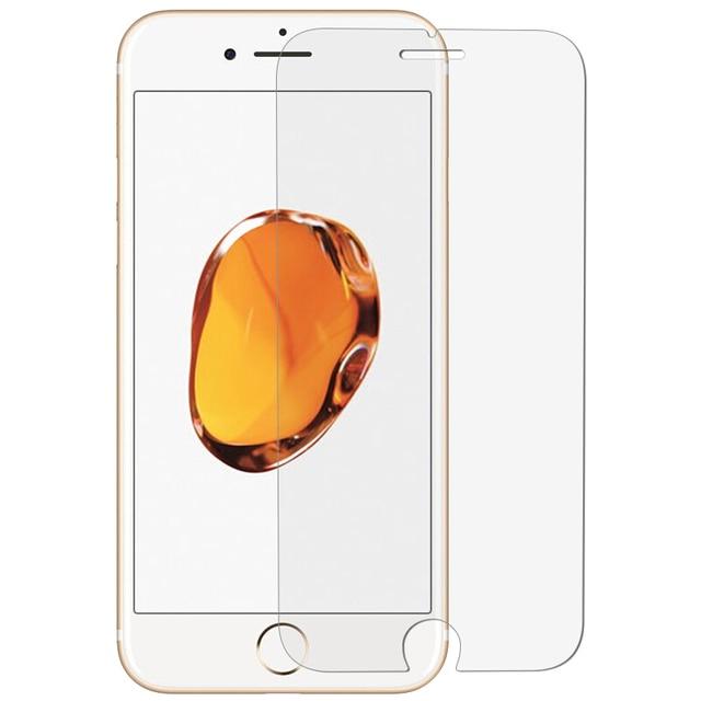 Para iPhone X 10 Ten Protector de pantalla de clase templado para iPhone X 4 4S 5 5c 5S SE 6 6 película protectora endurecida S 7 8 Plus HD 9 H