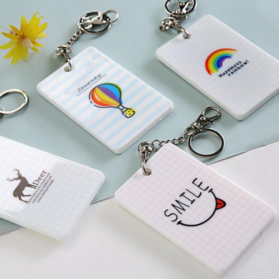 Fashion Card Holder Case Cover Women Silm Cute Kids Portable Bank Business Female Porte Carte Travel Credit ID Card Bag Wallet in Card ID Holders from Luggage Bags