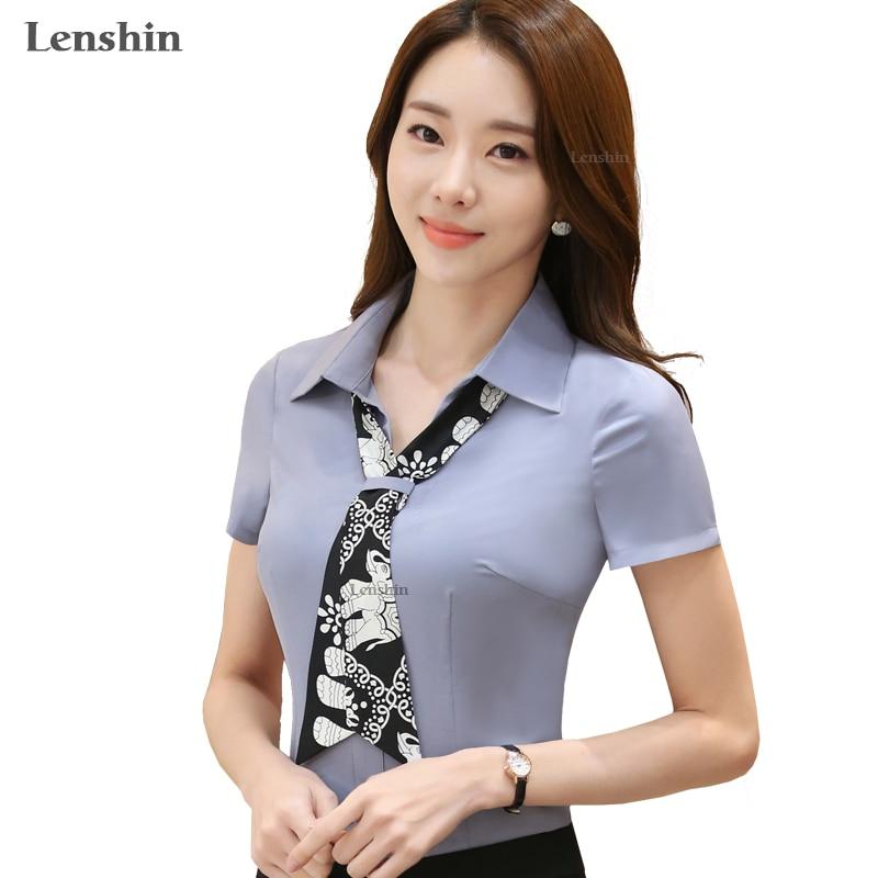 Леншина шарф-сорочка блузка Нова мода - Жіночий одяг