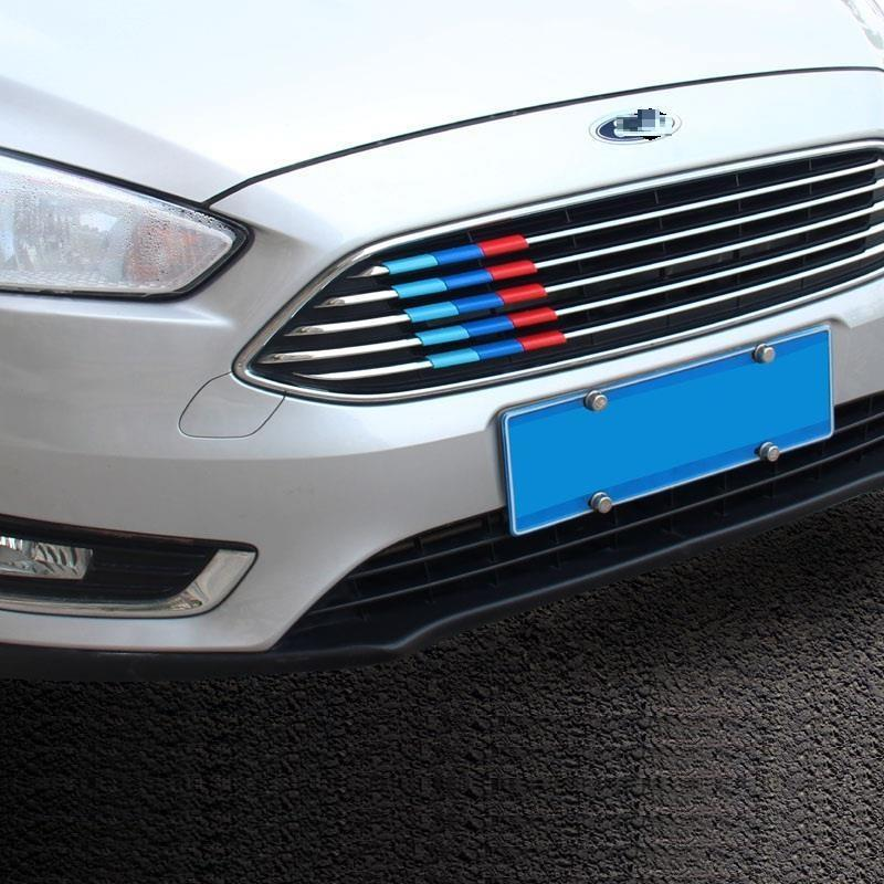 Window Air conditioner automobile upgraded car styling covers bright sequins sticker strip 13 14 15 16 17 FOR Ford Mondeo