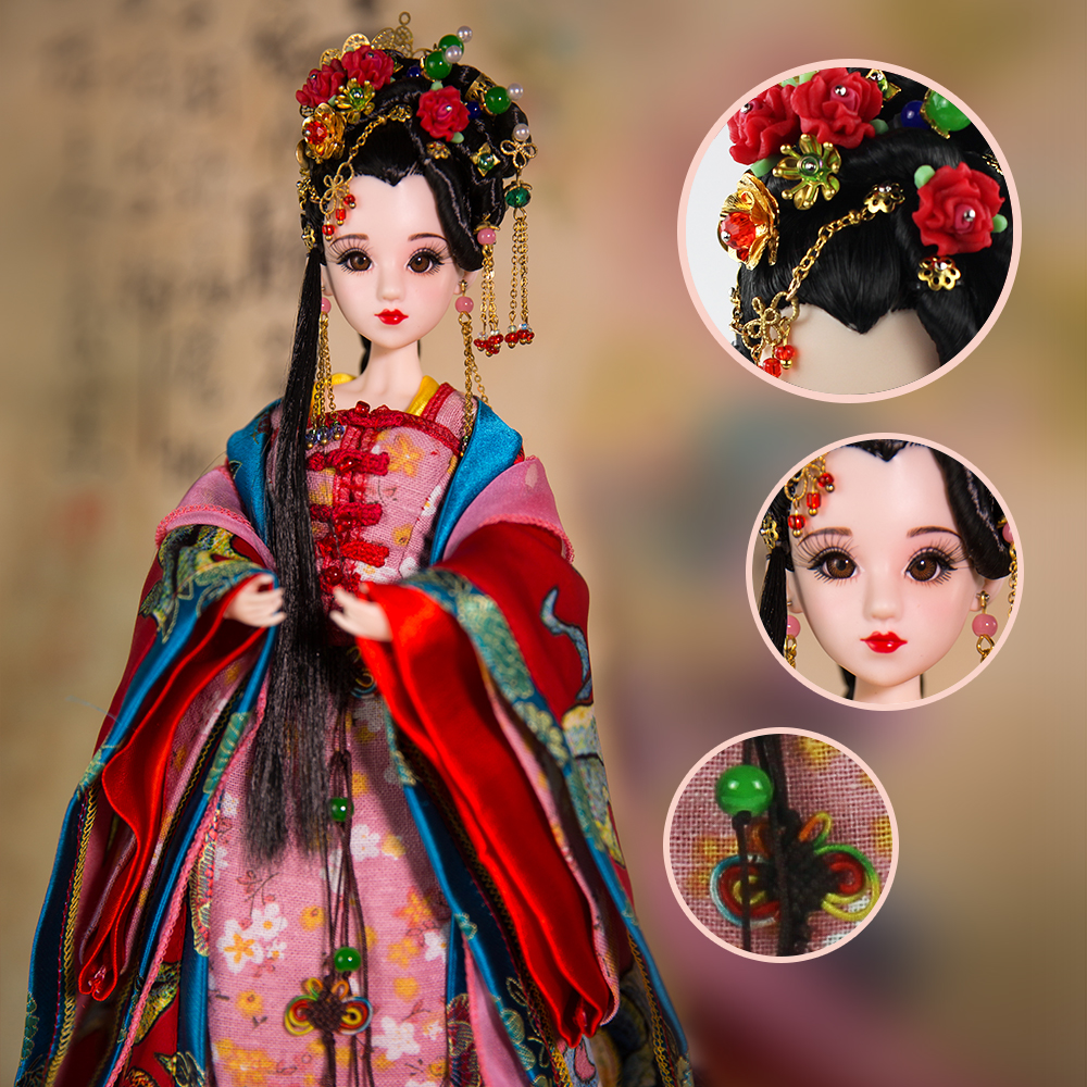 East Charm costume doll 1/6 like BJD Blyth Dolls Diau Charn latest limited edition gift high quality toys 14 joint body genuine east charm costume 1 6 like bjd blyth doll ni wu 3d eye 14 joint body with makeup high quality collection gift toys