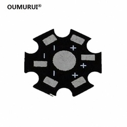 100pcs/lot 1W 3W 5W High Power LED Heat Sink Aluminum Base Plate free shipping