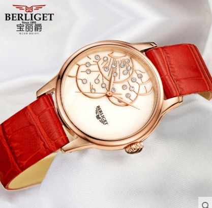 5th penjual tahun Genium Kulit SS made 5A 50 M air BERLIGET jam tangan Wanita wanita gadis menonton