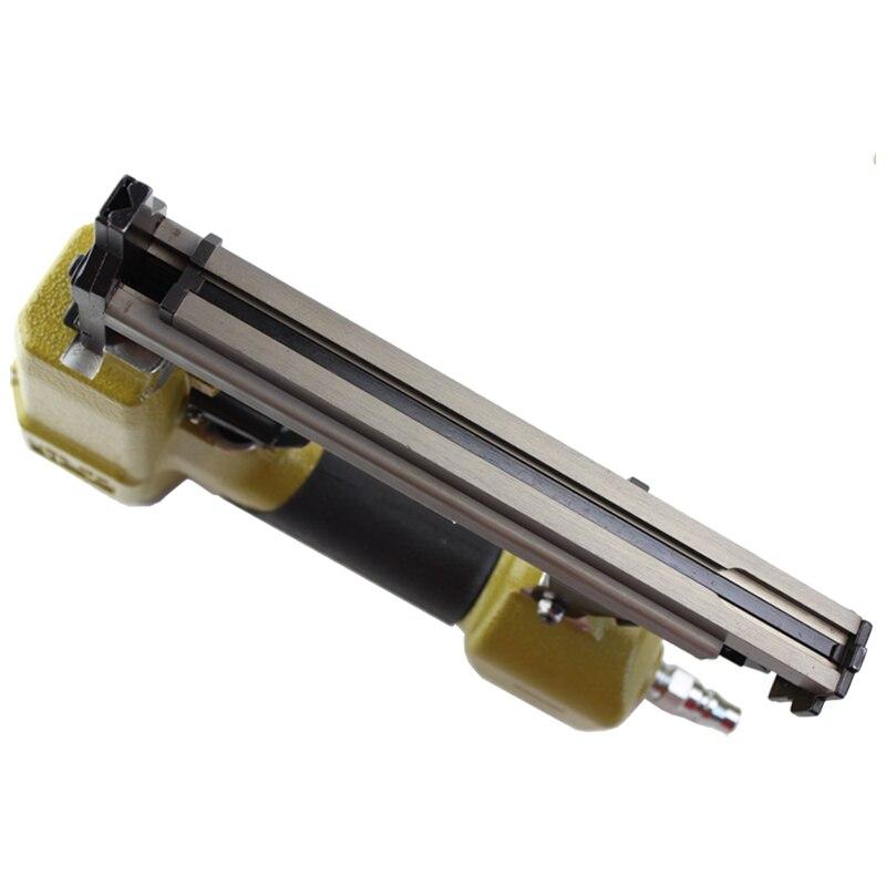 High Quality V1015B Pneumatic Stapler Air Nail Gun nailer V type nail 10.3MM Crown Pneumatic Air Stapler For V Nail-in Nail Guns from Tools    3