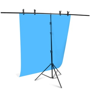 Image 4 - רקע מסגרת רקע צילום T בצורת רקע תמיכה Stand מערכת מתכת רקעים עבור תמונה סטודיו מרובים גודל