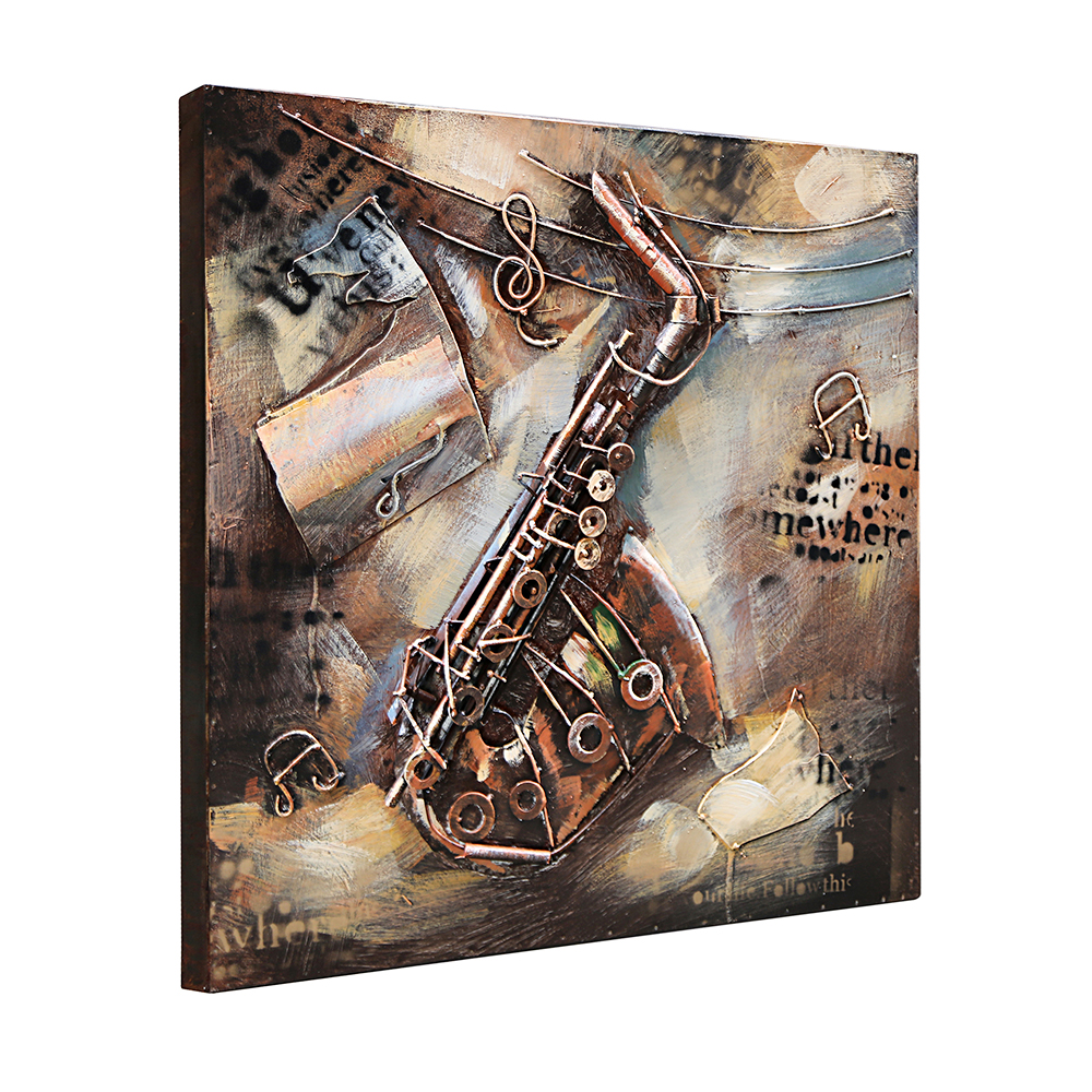 Music Metal Wall Art metal wall art modern promotion-shop for promotional metal wall