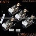 20 PCS CAT6A/CAT7 Ethernet Lan de Rede RJ45 8P8C Conector Banhado A Ouro Plugue 80314337 BFE