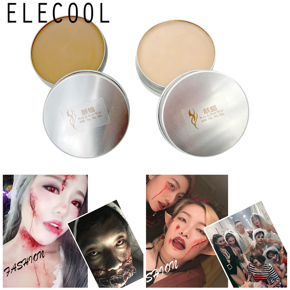 Halloween Makeup Face Painting Special Effects Stage Makeup Halloween Party Fake Wound Skin Wax Scar Body Paint Makeup-in Body Paint from Beauty & Health on Aliexpress.com   Alibaba Group