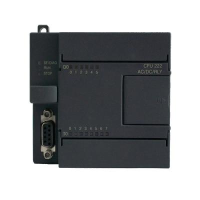 CPU222-AR Compatible S7-200 6ES7212-1BB23-0XB0 6ES7 212-1BB23-0XB0 PLC Main unit AC 220V 8 DI 6 DO relay 6es7 212 1aa01 0xb0 6es7212 1aa01 0xb0 used 100% tested with free dhl ems