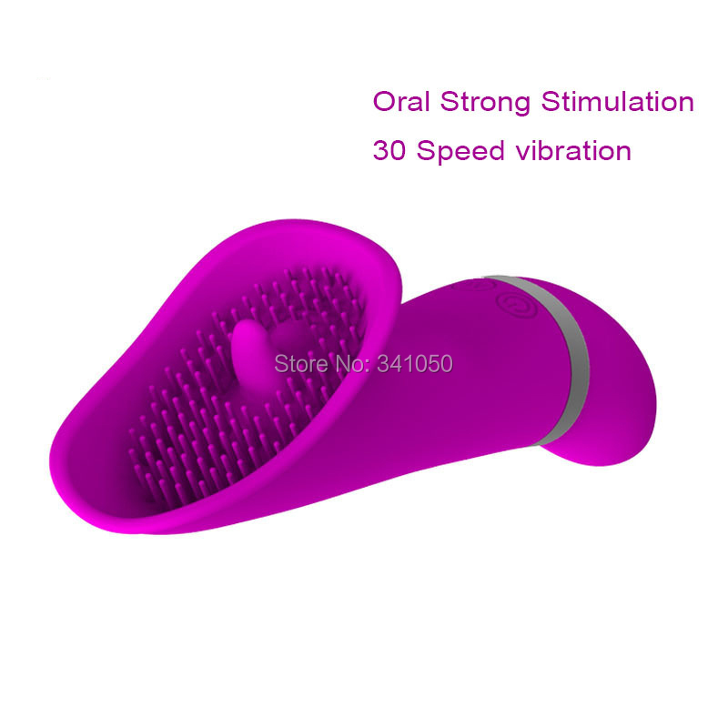 Sex Toys for Women Pretty Love Licking Toy 30 Speed Clitoris Vibrators Clit Pussy Pump Silicone G-spot Vibrator Oral Sex Product (2)