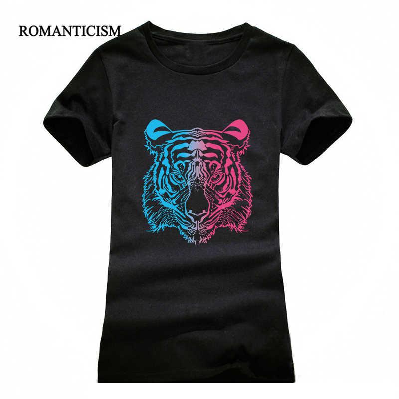 EXPERTEE moda lato t koszula kobiety 3d tygrys druku koszulki z krótkim rękawem odzież marki topy tees