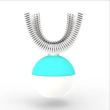 360 brosse à dents automatique brosse à dents électrique Ultra sonique brosses à dents sonique brosse à dents électrique Rechargeable blanc bleu nouveau - 5