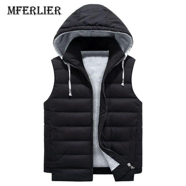 MFERLIER Autumn Winter Vest...