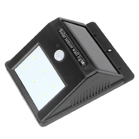 ITimo Waterproof Energy Saving 6 LEDs Wireless Emergency Solar Wall Lamp Super Bright Motion Sensor Outdoor Lighting