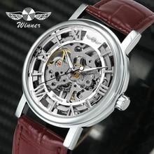 WINNER Official Unisex Men Watches Top Brand Luxury Mechanical Watch