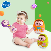 Department of music zodiac rhythm stick budaoweng doll music bell 0-1 year old Large budaoweng puzzle