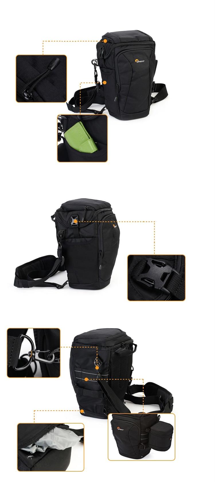 Lowepro Toploader Pro 75 Aw Ii Digital Slr Camera Triangle Shoulder Zoom 55 Black Weight105kg