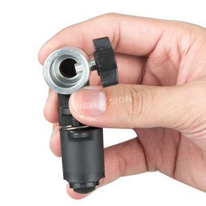 Image 5 - ホルダーブラケットスイベルヘッドリフレクターディスクアームサポート/写真動画写真スタジオリフレクターディスクホルダークリップ用ライト