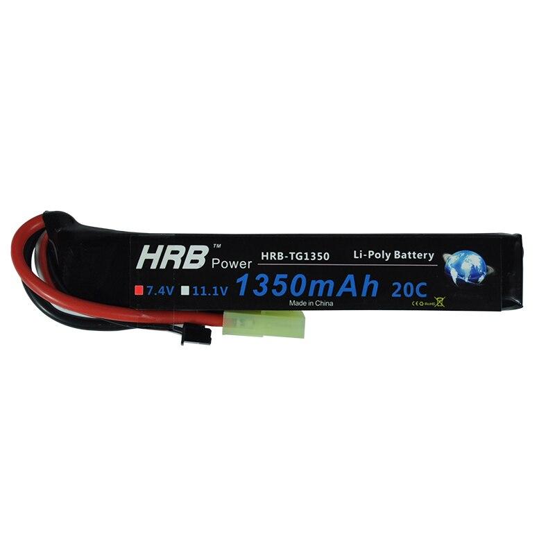 HRB 2S 7.4V 1350mAh 20C Lipo