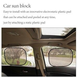 Image 5 - Car sunshade 2PCS car window sun shade auto sun visor rear window sun block sunscreen solar UV windshield sunshade