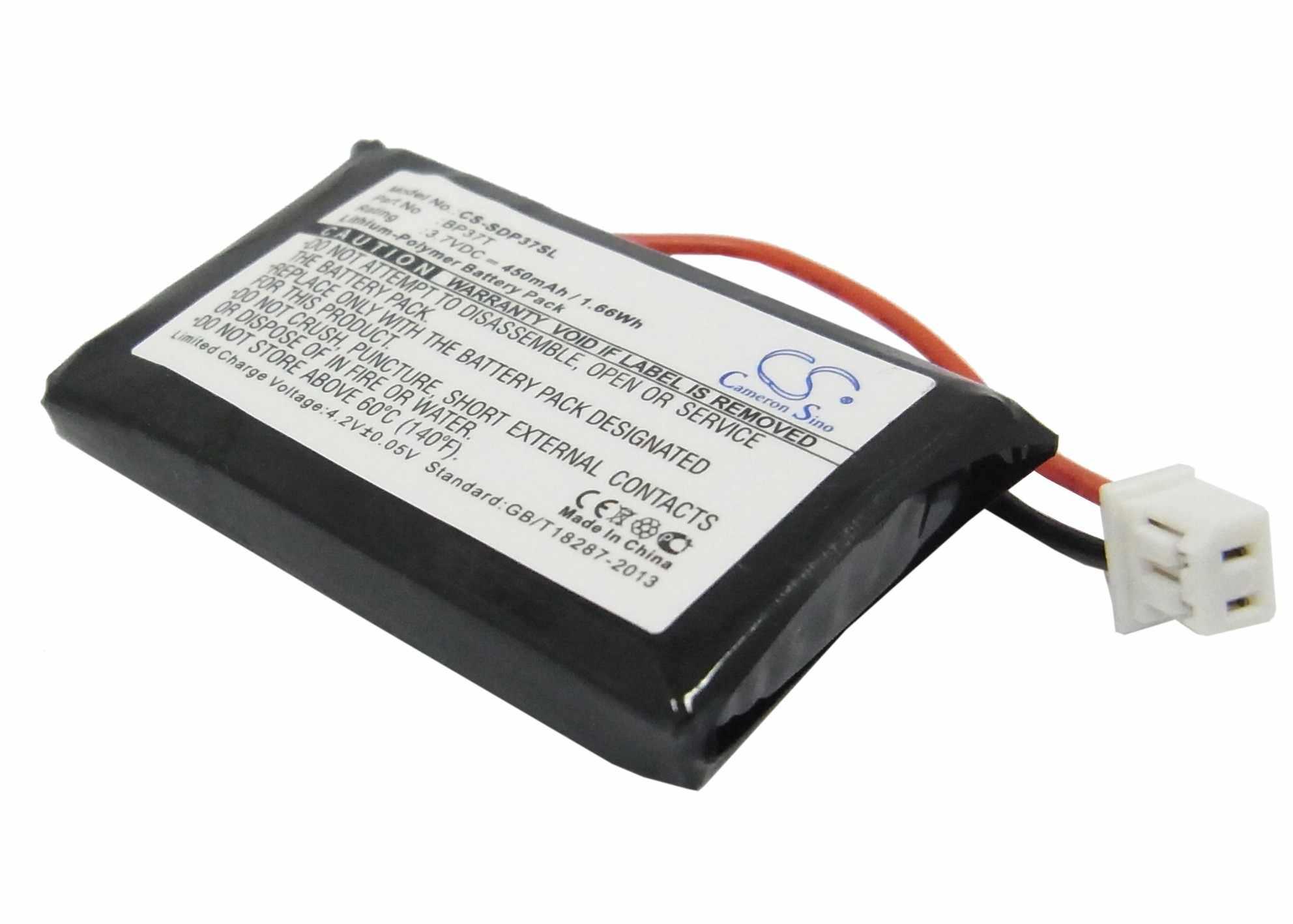 Cameron sino 450 mah bateria bp37t para dogtra da210, iq mais transmissor remoto, transmissor de qi, transmissor de qi