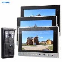 Buy DIYSECUR 10 inch Video Door Phone Intercom Doorbell + 700 TV Line HD LED Night Vision Camera 1 V 3