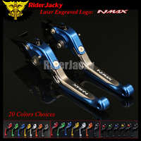 RiderJacky 1 Pair Motorcycle Folding Extendable Brake Clutch Levers For Yamaha NMAX 155 125 NMAX155 NMAX125 2015 2017 2016