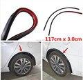 Car fender flare 2pc117cm rueda ceja rueda de labios protector-arco de ajuste para mitsubishi lancer 10 9 x ex asx gt