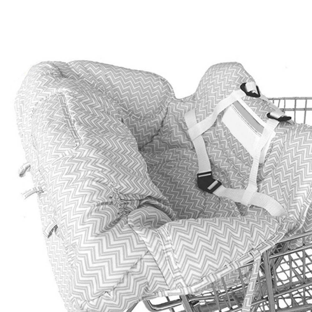 Baby Folding Shopping Cart Cushion New Children Portable Safe High Dining Chair
