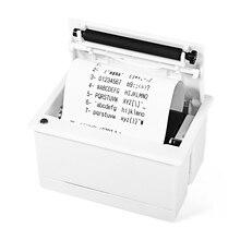 Sólido Blanco de Poco Ruido Impresora JP QR204 58mm Super Mini Incrustado POS Impresora Térmica de Recibos Compatible Con ESC de instrucciones de impresión conjunto