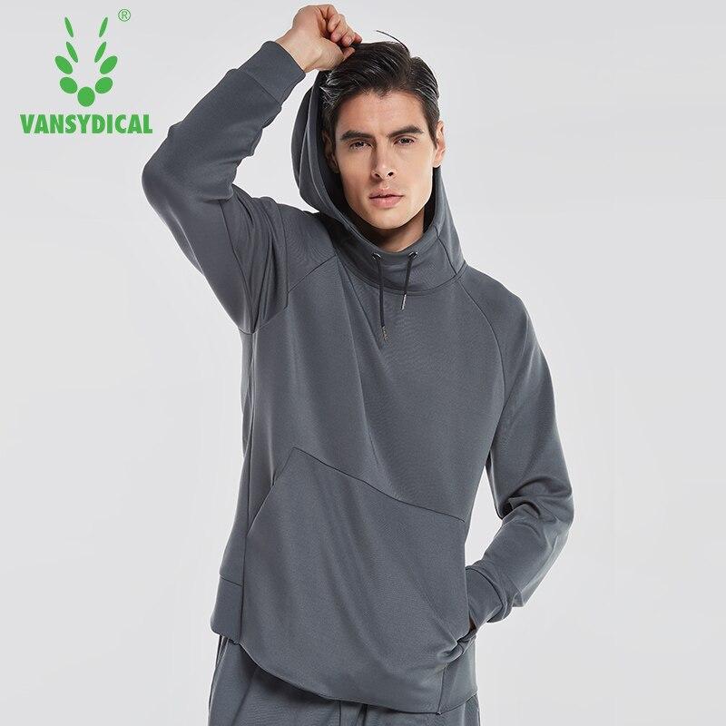 2018 automne hiver à manches longues à capuche hommes sport chemises pull sweat en cours d'exécution T-shirt hommes formation Polyester tenue