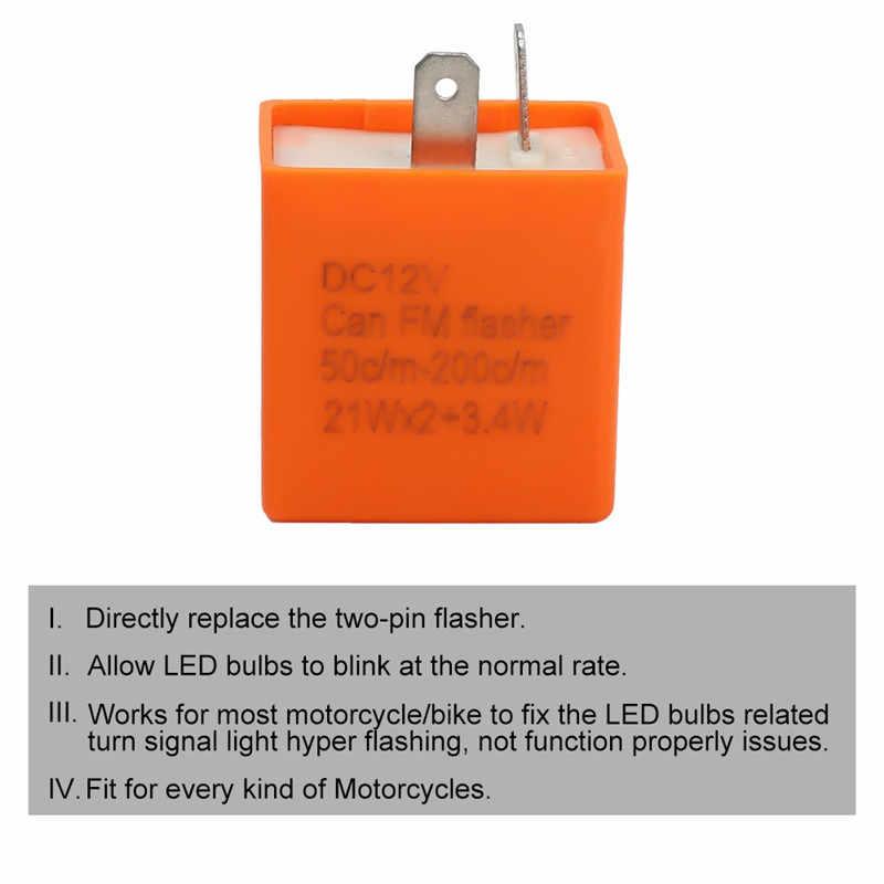 Lichtblinkrelais drehen Motorräder LED-Blinkrelais Blinkerfrequenzregelung
