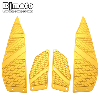 BJMOTO For YAMAHA XMAX 300 2017-2018 X MAX 250 all year Motorcycle Footboard Steps Motorbike Foot Footrest Pegs Plate Pads