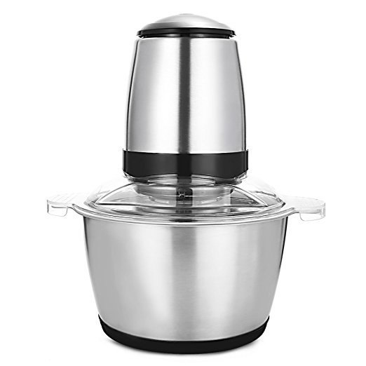 New Stainless Steel Meat Grinder Chopper Electric Automatic Mincing Machine High-quality Household Grinder Food Processor