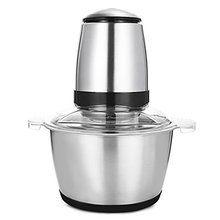 лучшая цена New Stainless Steel Meat Grinder Chopper Electric Automatic Mincing Machine High-quality Household Grinder Food Processor