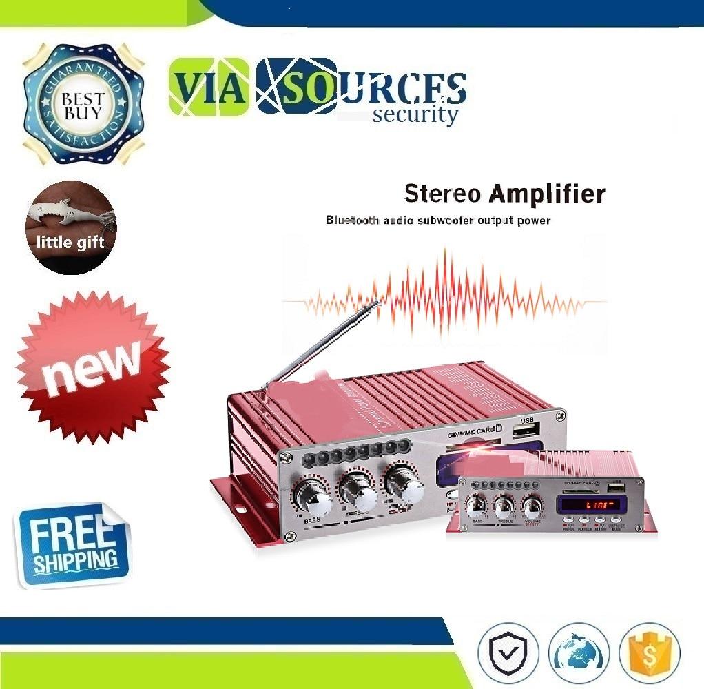 Hy-502s 2ch Bluetooth Hallo-fi Super Bass Ausgang Power Stereo Verstärker Mit Fernbedienung Usb/sd Card Player Fm Radio