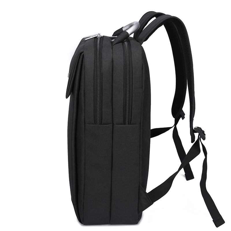 Men Backpacks Leisure Travel Bag Rugzak Unisex Women 14inch Laptop Backpack Mochila Feminina Sac A Dos Homme School Bag Black in Backpacks from Luggage Bags
