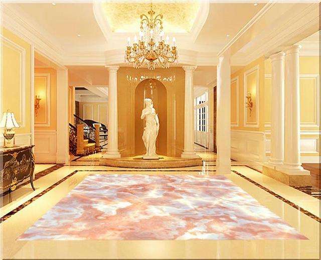 Marmeren Badkamer Vloer : Marmeren behang 3d voor badkamers custom photo zelfklevende 3d
